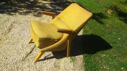 Különleges design 1962-es retro Csehszlovák fotel
