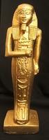 Egyiptomi gipsszobor
