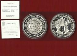 NATO csatlakozás 1999 ezüst emlékérem