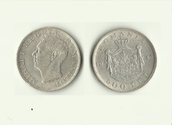 500 Lej 1944 I.Mihai ezüst