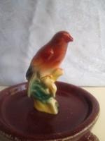 Nagyon szép cinege madárka porcelánból 10 cm-es