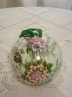 Francia, festett porcelán pot-pourri (illatosító) tartó