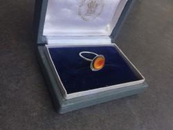Joid'art zománc díszitésű ezüst gyűrű
