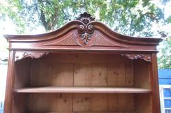 Bécsi barokk faragott polcos - könyves szekrény 80.000 Ft
