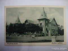 Keszthely-fürdő Hullám szálló képeslap