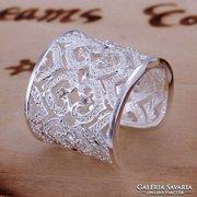 Különleges Ezüstözött Gyűrű