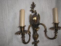 2 darab bronz falikar