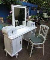 Vintage fésülködőasztal, pipereasztal (+szék+ tükör)29.000 Ft