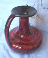 Retro jelzett iparművész váza
