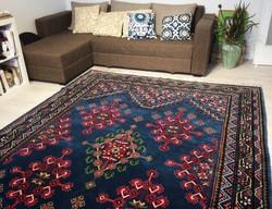 Csodálatos kézicsomózású Marokkói szőnyeg