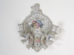 0M311 Nagyméretű porcelán falikar