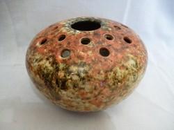 U827 Jelzett Ikebana retro kerámia váza