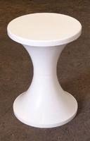 0M530 Retro design fehér műanyag szék pille szék
