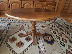 Póklábú asztal, dohányzóasztal