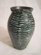 Szép retro kerámia váza,Lénárt Mihály