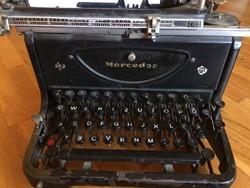 Mercedes Antik írógép