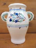 Antik hódmezővásárhelyi füles váza