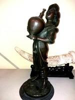 """Monumentális bronz szobor """"Szomjas fiú"""""""