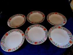 Kézi festésű kalocsai tányér