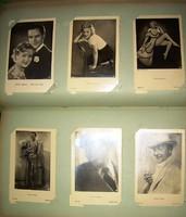 Régi sztárfotók 40-es évek Joan Crawford, Eggerth Márta, Lilian Harvey, Renate Müller stb.