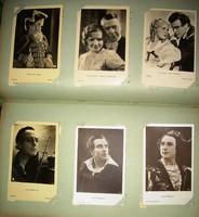 Sztárfotó gyűjtemény Kathe von Nagy, Magda Schneider, Willy Forst, Petrovics Szvetiszláv stb.