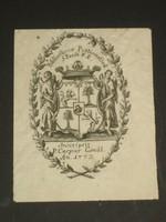 Pesti pálos kolostor könyvtára - ex libris