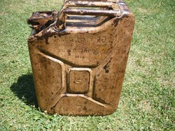 -- Wehrmacht Afrika Korps 20 literes Német benzines kanna!--