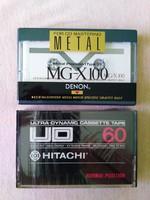 DENON MG-X 100 és HITACHI UD-60 BONTATLAN KAZETTA