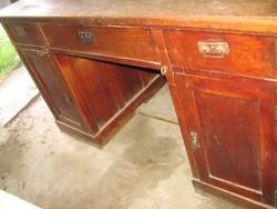 Antik íróasztal felújítandó állapotban Most olcsón!!!