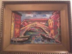 Vén Emil festmény 39,5 X 30 cm