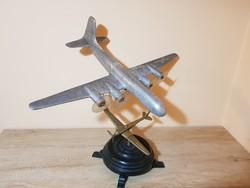 Figyelem,kiárúsítás!! Antik óriás méretű dupla repülőgép makett ,asztaldísz!
