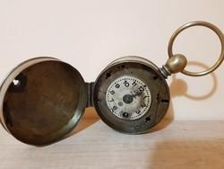 Figyelem,kiárúsítás! Antik Bürks éjjeliőr óra a 19.századból
