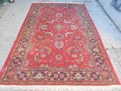 Perzsa gyapjú szőnyeg.Kézi csomózású.