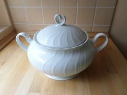 Winterling Bavaria fehér porcelán leveses tál 3 liter