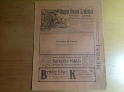 Magyar órások szaklapja 1909 október 1