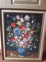 LEÁRAZVA!! Kézzel készített gyönyörű gobelin 79 x 64 cm