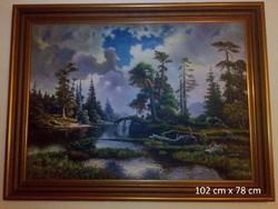 Festmény - tájkép
