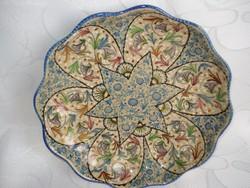 Dúsan  mintázott régi olasz fali tányér