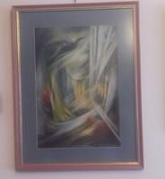 50 x 64 cm. Vassy Erzsebet: A fecskek hazaternek