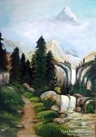 70 x 50 -olajfestmény