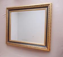 """Elegáns """" Fekete-Arany"""" színű fali tükör. Nagy kivitel!"""