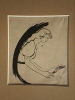 Tábor (Taupert) János (1890-1956) - Olvasó lány