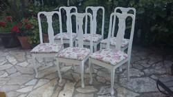 Provence neobarokk stílusú székek
