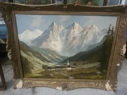 G. Wegener - Alpesi táj