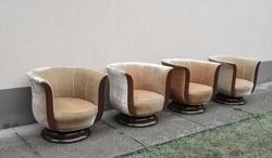 Eredeti francia art deco tulipán fotelek a '30-as évekből.