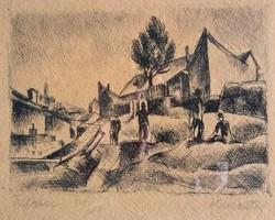 Kmetty János (1889-1975): Tabán