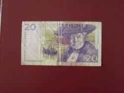 Svéd 20 korona
