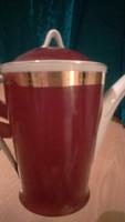 Hollóházi kávés kiöntő kanna