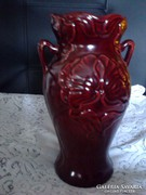 Zsolnay : Pipacsos váza