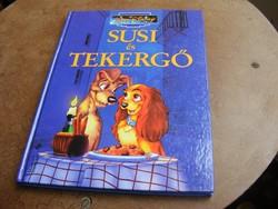 Walt Disney Klasszikus Mesék sorozat Susi és Tekergő mesekönyv